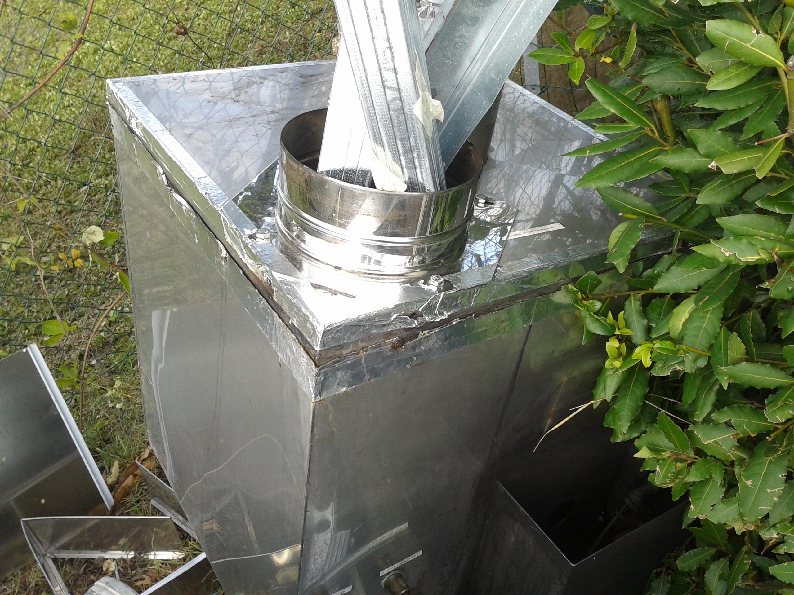 Spazzamamino pulizia delle cappe montaggio canne fumarie for Abbattitore fumi per stufe a pellet